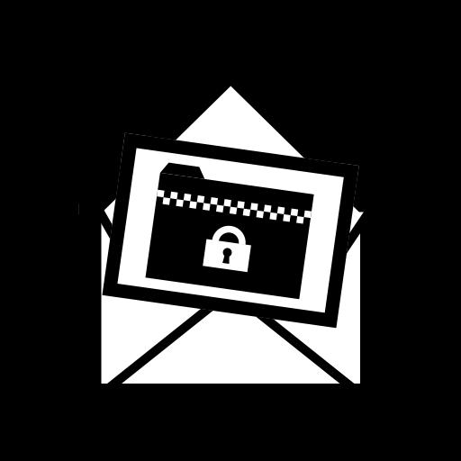 パスワード付きZIPファイル添付メール/Mail_ZipFile_Password